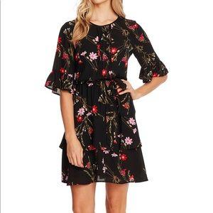 CeCe Wildflower Print Dress